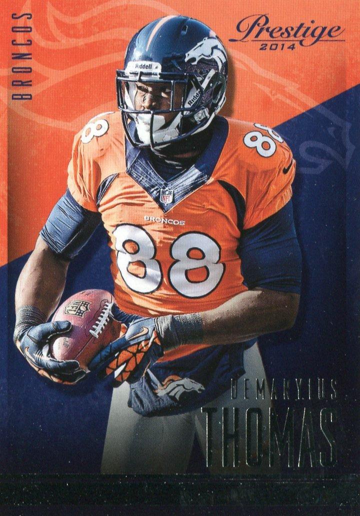 2014 Prestige Football Card #78 Demaryus Thomas