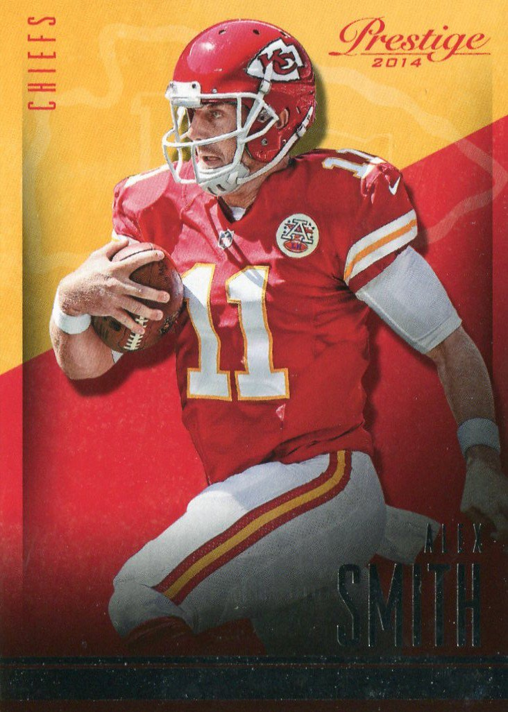 2014 Prestige Football Card #85 Alex Smith
