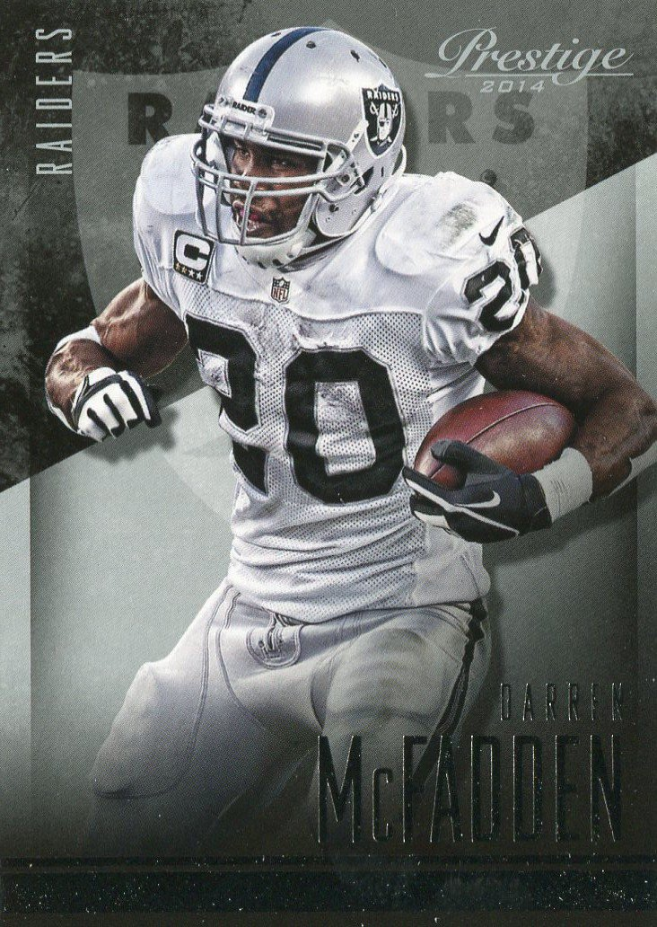 2014 Prestige Football Card #95 Darren McFadden