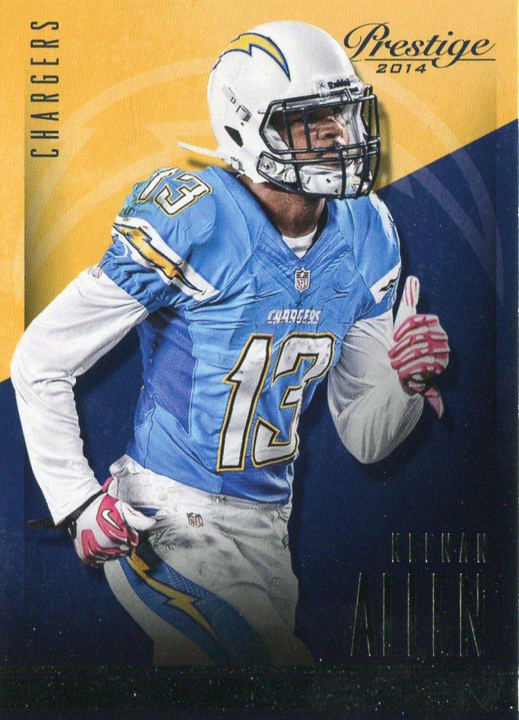 2014 Prestige Football Card #98 Keenan Allen