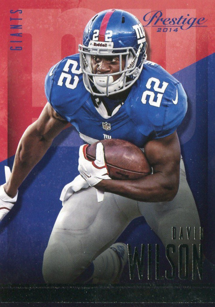 2014 Prestige Football Card #112 David Wilson