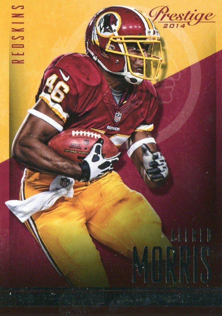 2014 Prestige Football Card #123 Alfred Morris