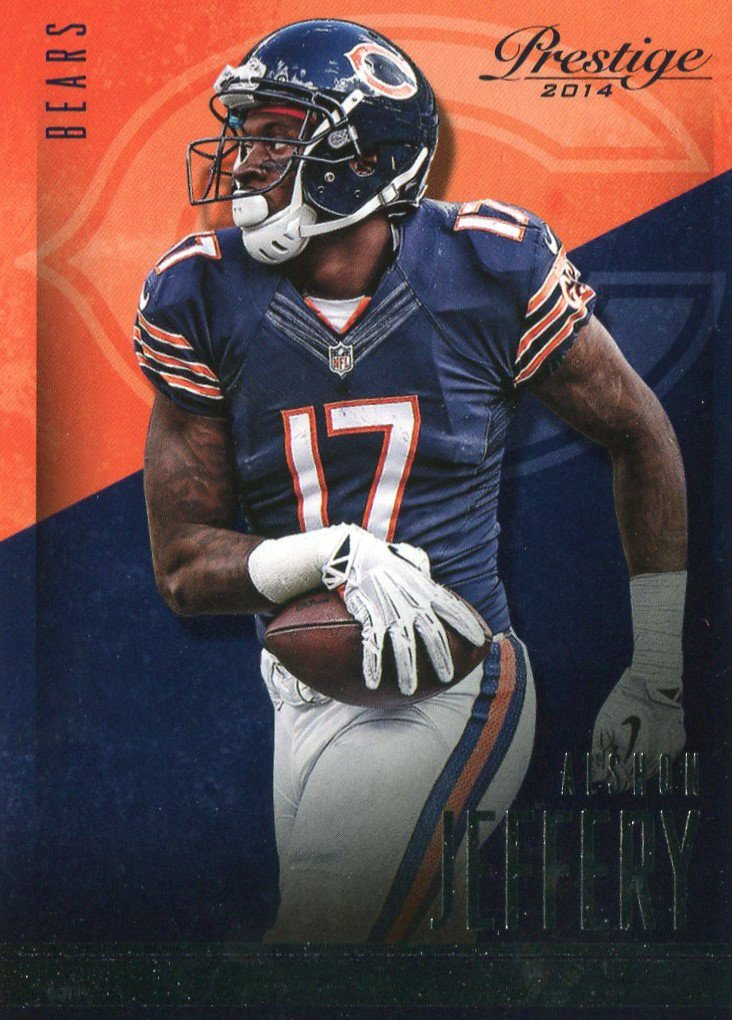 2014 Prestige Football Card #128 Alshon Jeffery