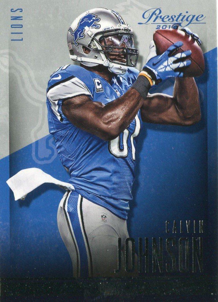 2014 Prestige Football Card #133 Calvin Johnson Jr