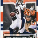 2015 Donruss Football Card #69 Demaryus Thomas