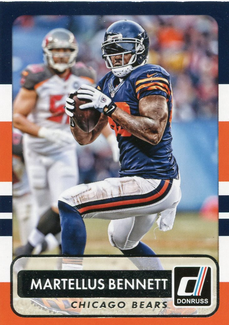 2015 Donruss Football Card #98 Martellus Bennett