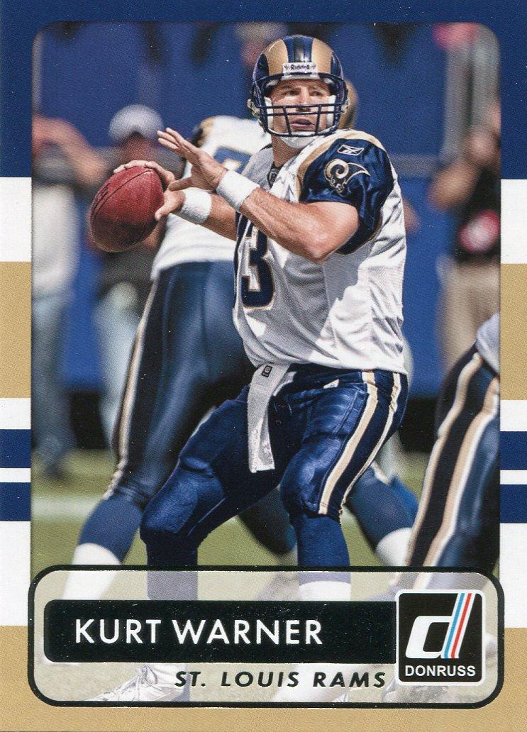 2015 Donruss Football Card #174 Kurt Warner