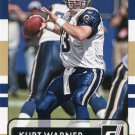 2015 Donruss Football Card #174 Kurt Warner