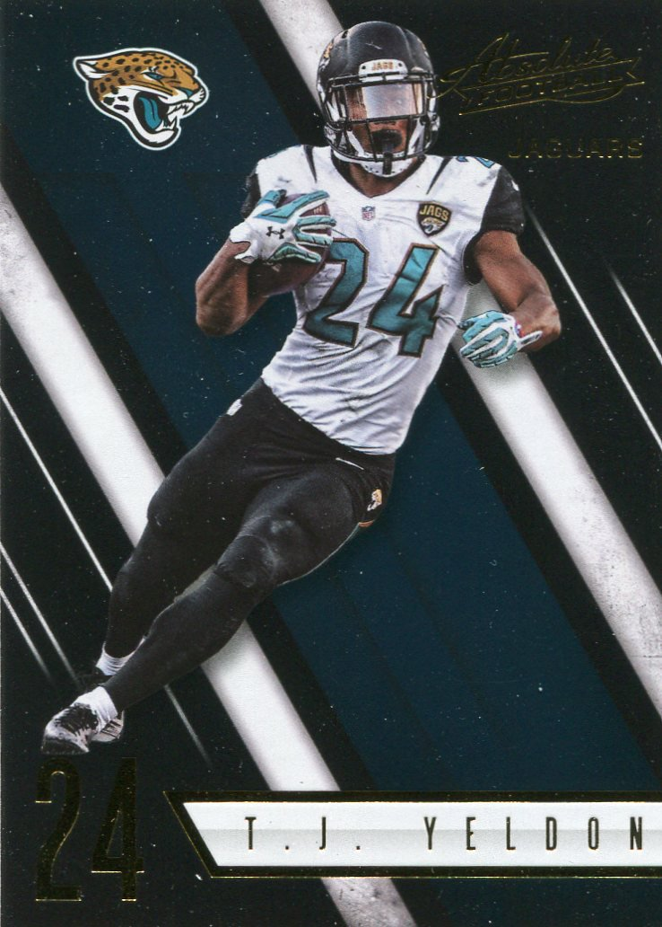 2016 Absolute Football Card #6 T J Yelden