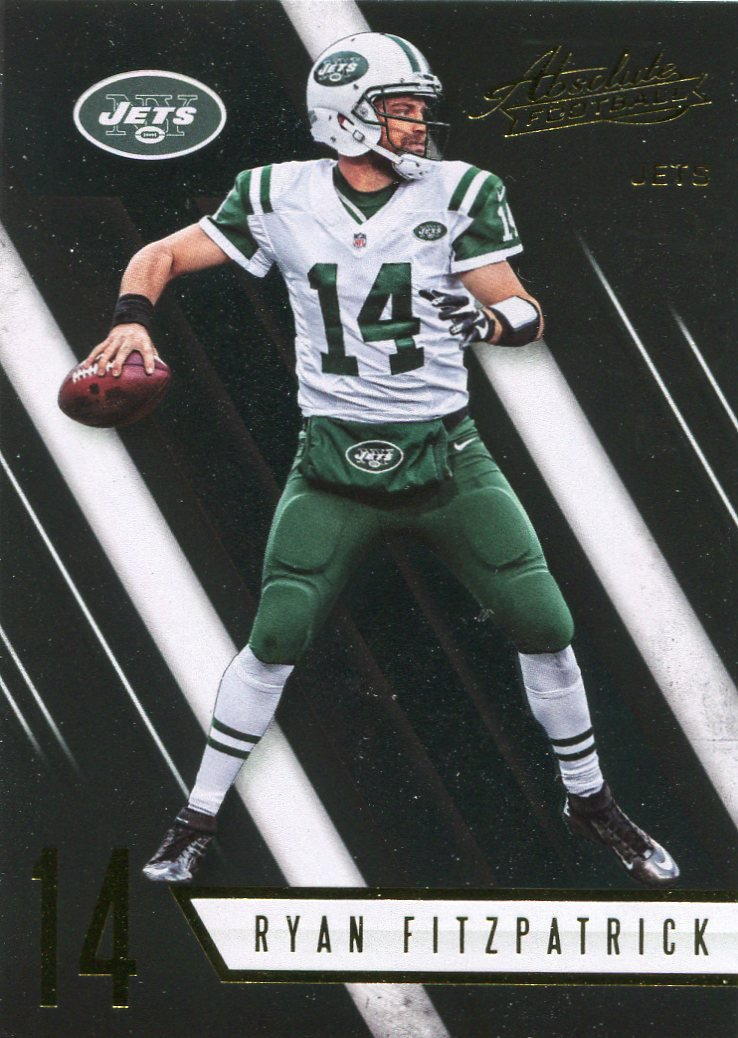 2016 Absolute Football Card #39 Ryan Fitzpatrick