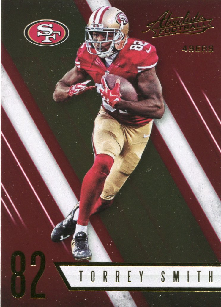 2016 Absolute Football Card #82 Torrey Smith
