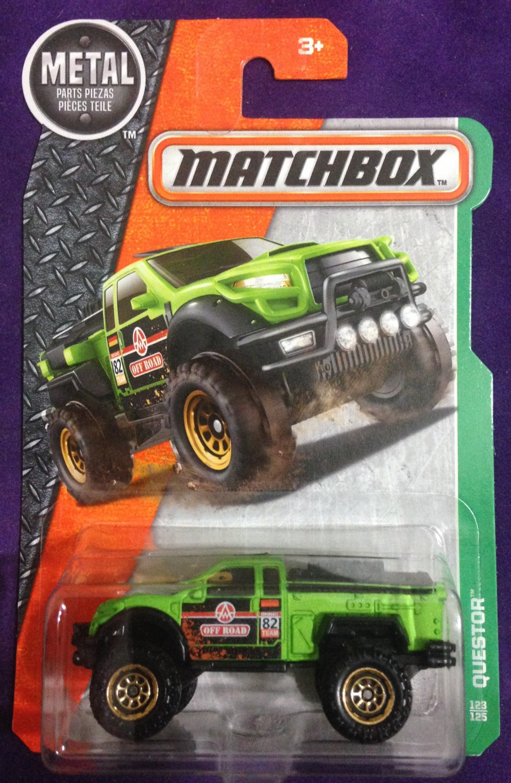 2017 Matchbox #123 Questor