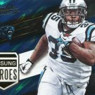 2016 Absolute Football Card Unsung Heroes #18 Mike Tolbert
