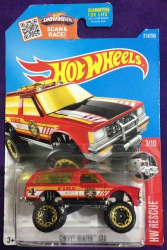 2016 Hot Wheels #213 Chevy Blazer 4x4