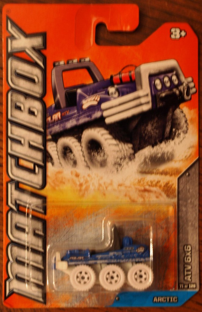2012 Matchbox #71 ATV 6x6