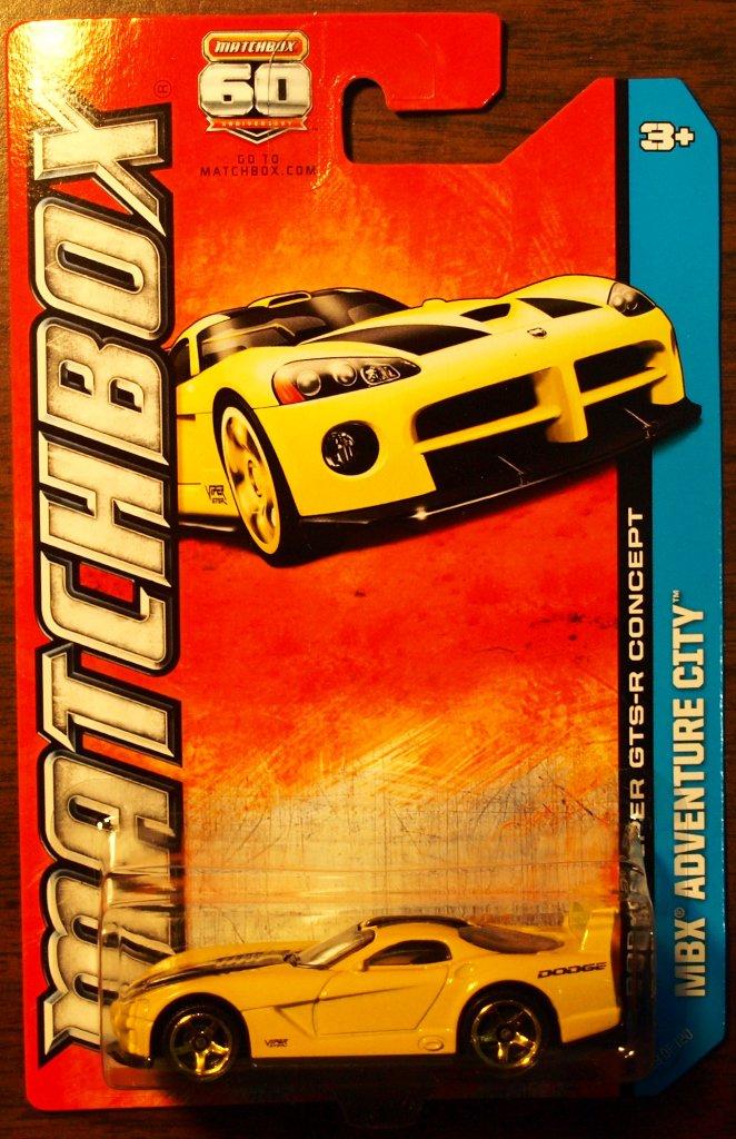 2013 Matchbox #29 Dodge Viper GTS-R Concept