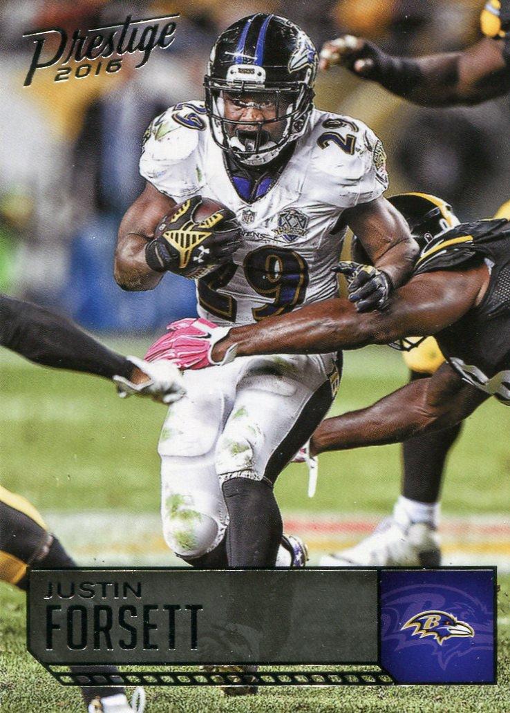 2016 Prestige Football Card #14 Justin Forsett