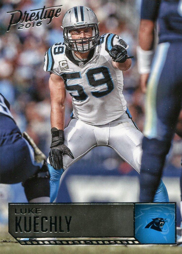 2016 Prestige Football Card #31 Luke Kuechly