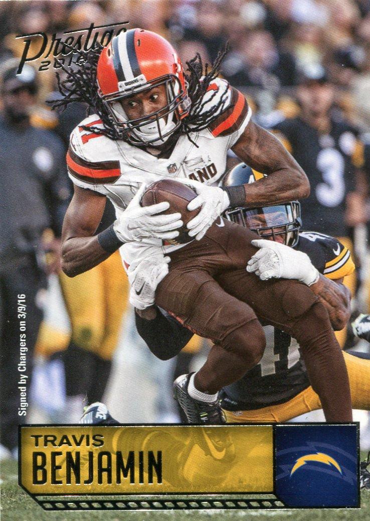 2016 Prestige Football Card #48 Travis Benjamin