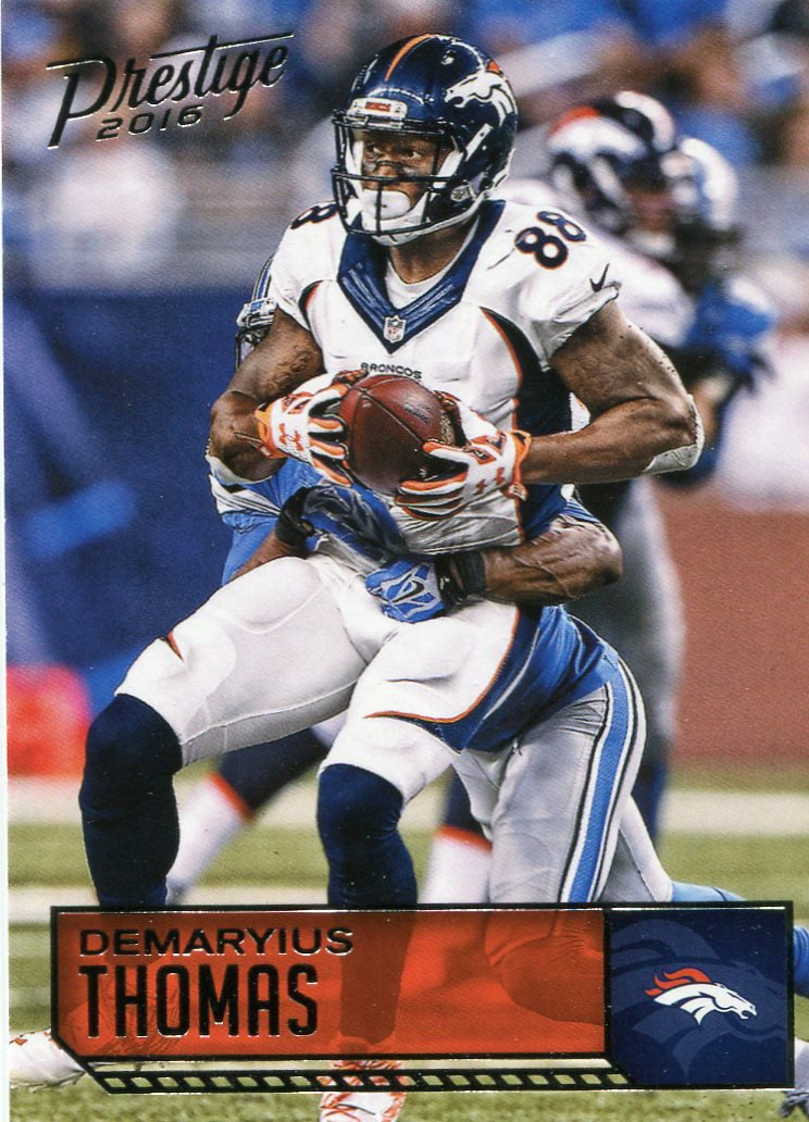2016 Prestige Football Card #61 Demaryus Thomas