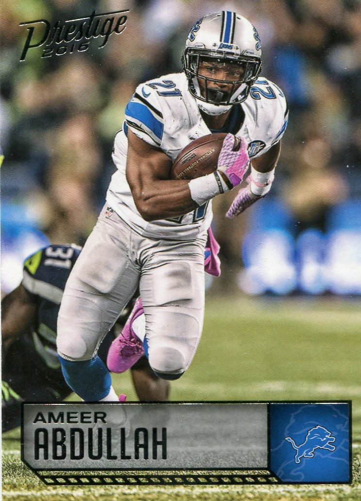 2016 Prestige Football Card #65 Ameer Abdullah