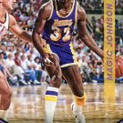 2014 Threads Basketball Card #123 Magic Johnson