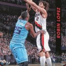 2014 Threads Basketball Card #161 Robin Lopez