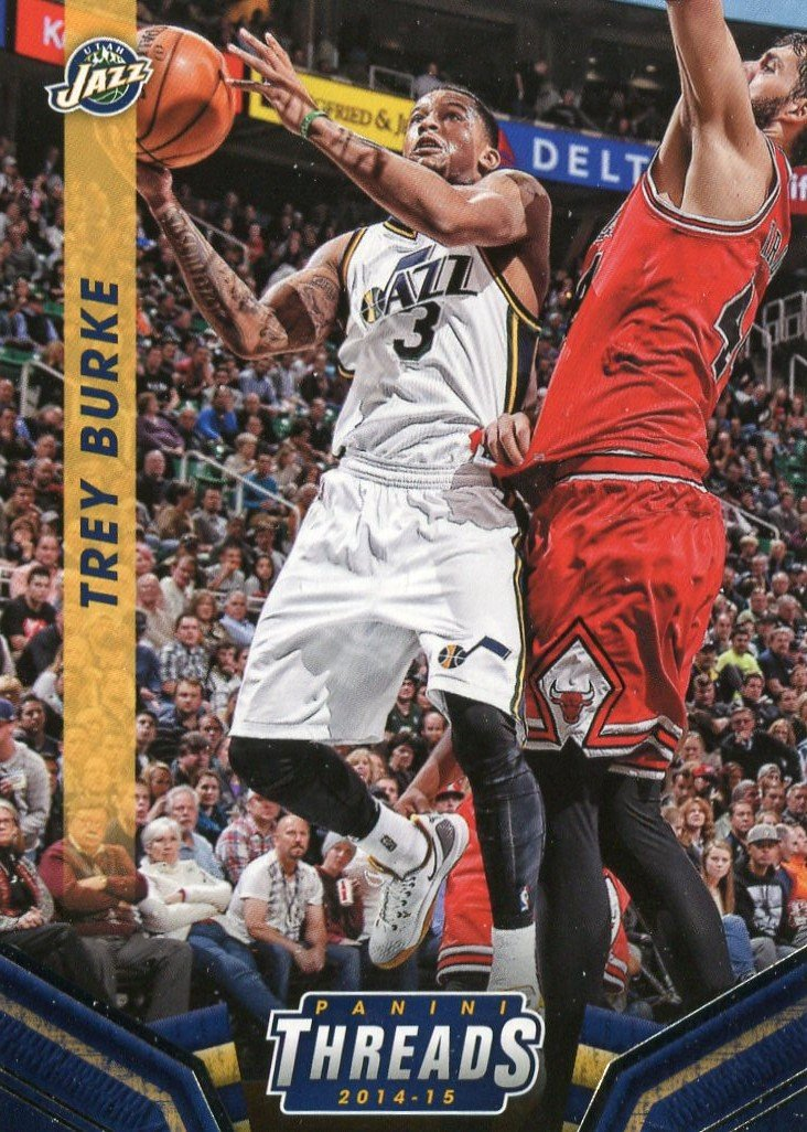 2014 Threads Basketball Card #188 Trey Burke