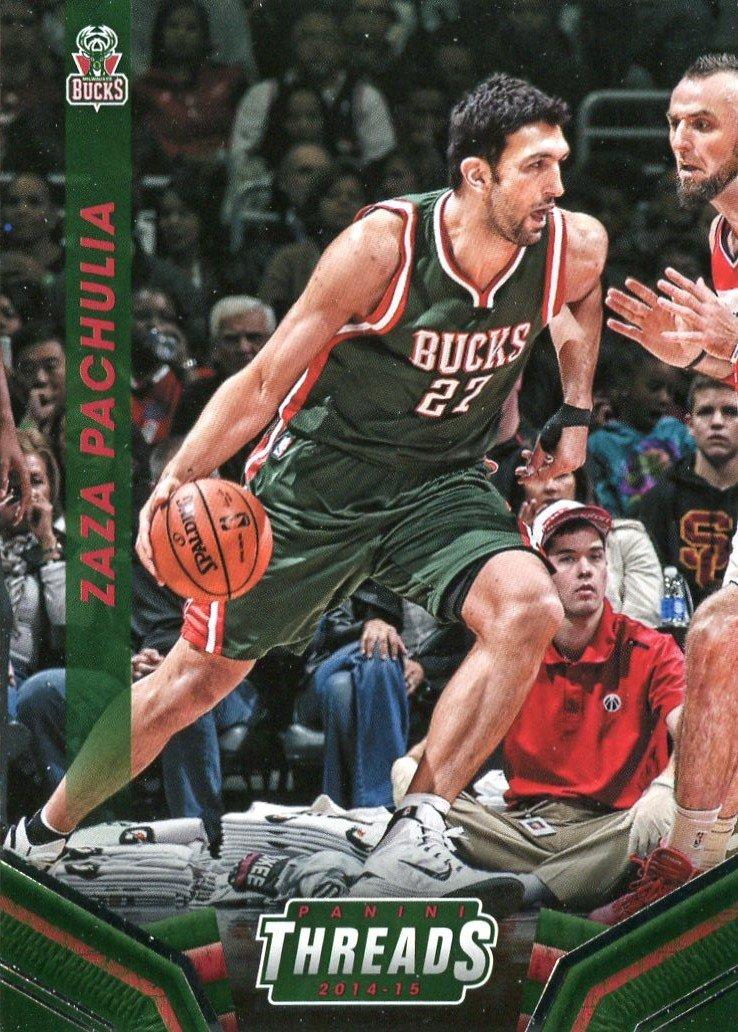 2014 Threads Basketball Card #200 Zaza Pachulia