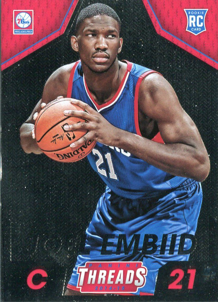 2014 Threads Basketball Card #286 Joel Embid