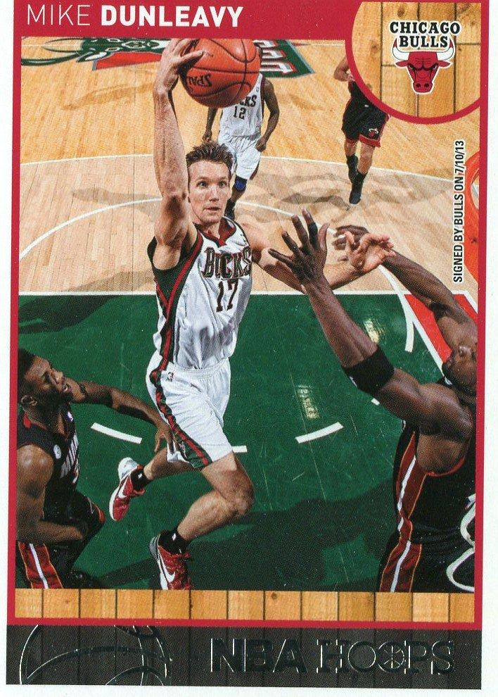 2013 Hoops Basketball Card #215 Mike Dunleavey