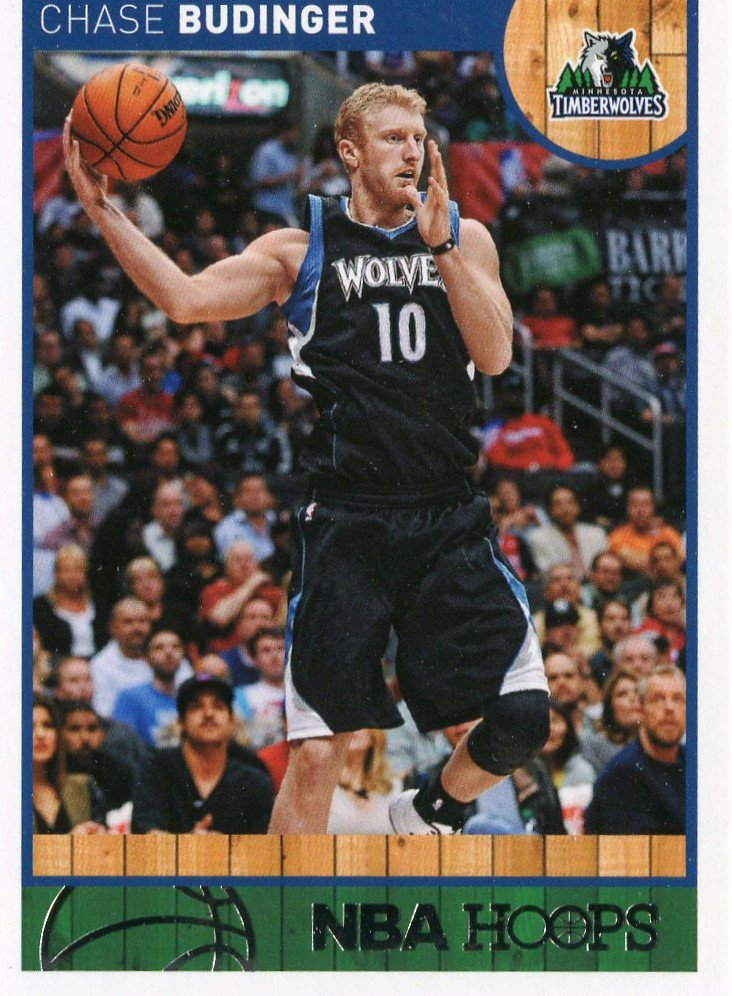 2013 Hoops Basketball Card #216 Chase Budinger