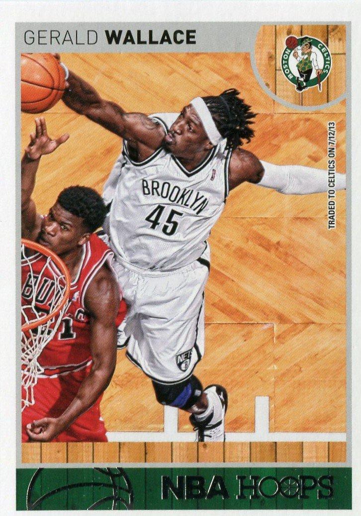 2013 Hoops Basketball Card #218 Gerald Wallace