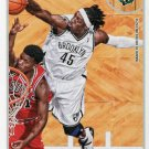 2013 Hoops Basketball Card #218 Gerald Wallace