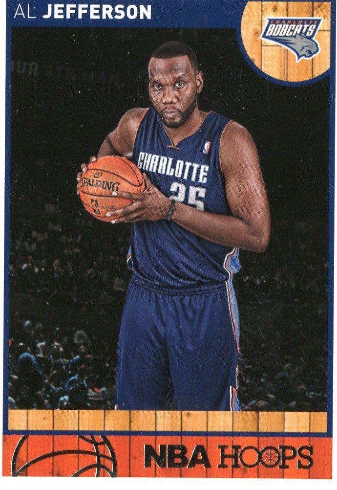 2013 Hoops Basketball Card #221 Al Jefferson