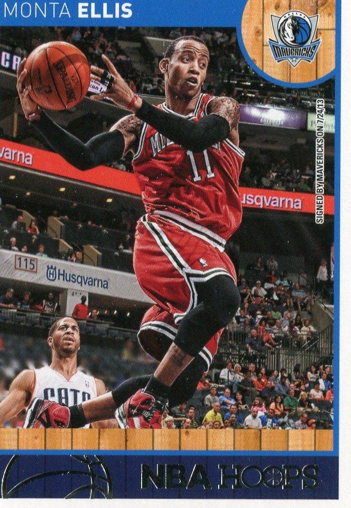 2013 Hoops Basketball Card #226 Monta Ellis