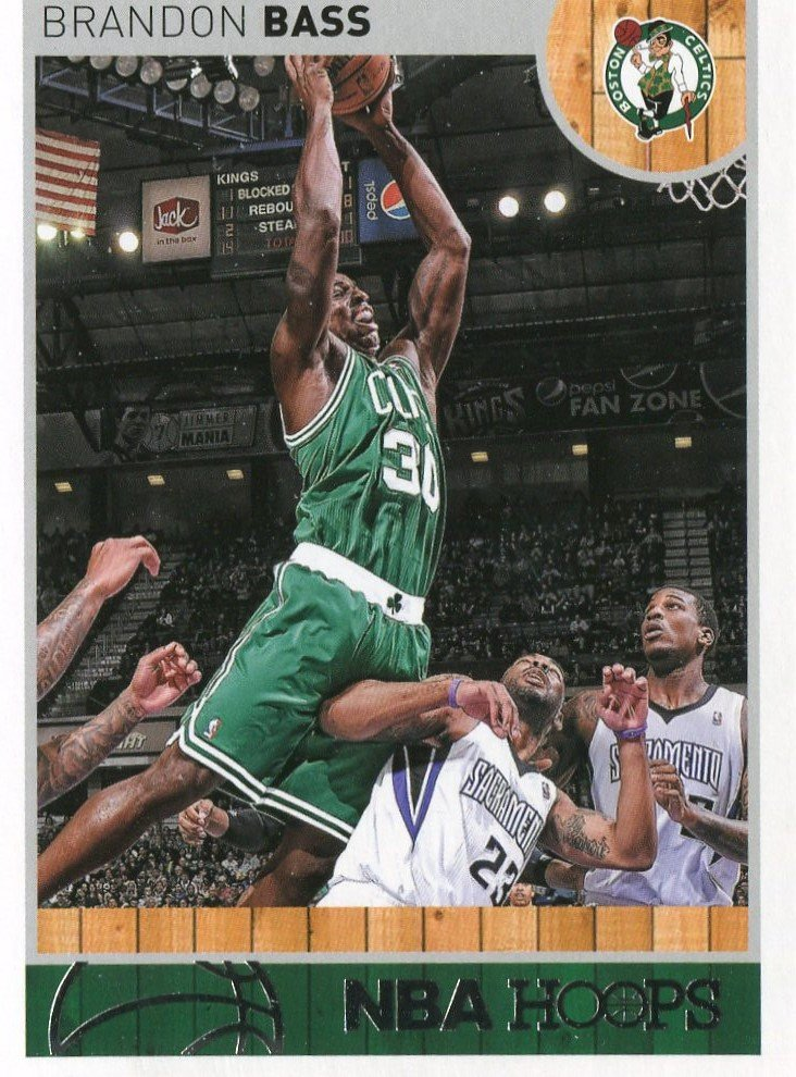 2013 Hoops Basketball Card #231 Brandon Bass