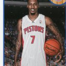 2013 Hoops Basketball Card #236 Brandon Jennings
