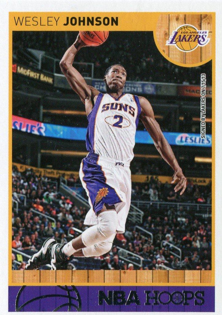 2013 Hoops Basketball Card #237 Wesley Johnson