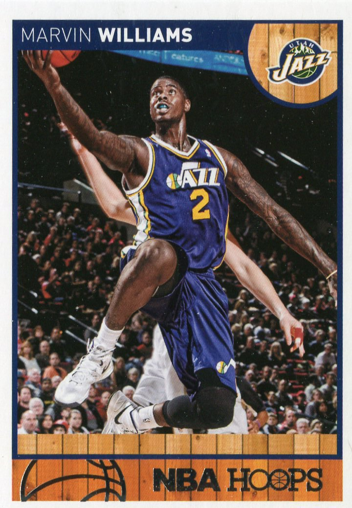 2013 Hoops Basketball Card #238 Marvin Williams