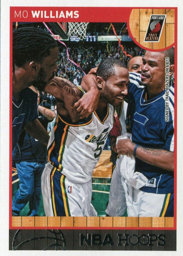 2013 Hoops Basketball Card #240 Mo Williams