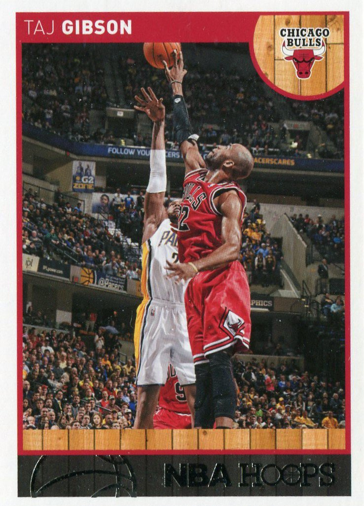 2013 Hoops Basketball Card #244 Taj Gibson