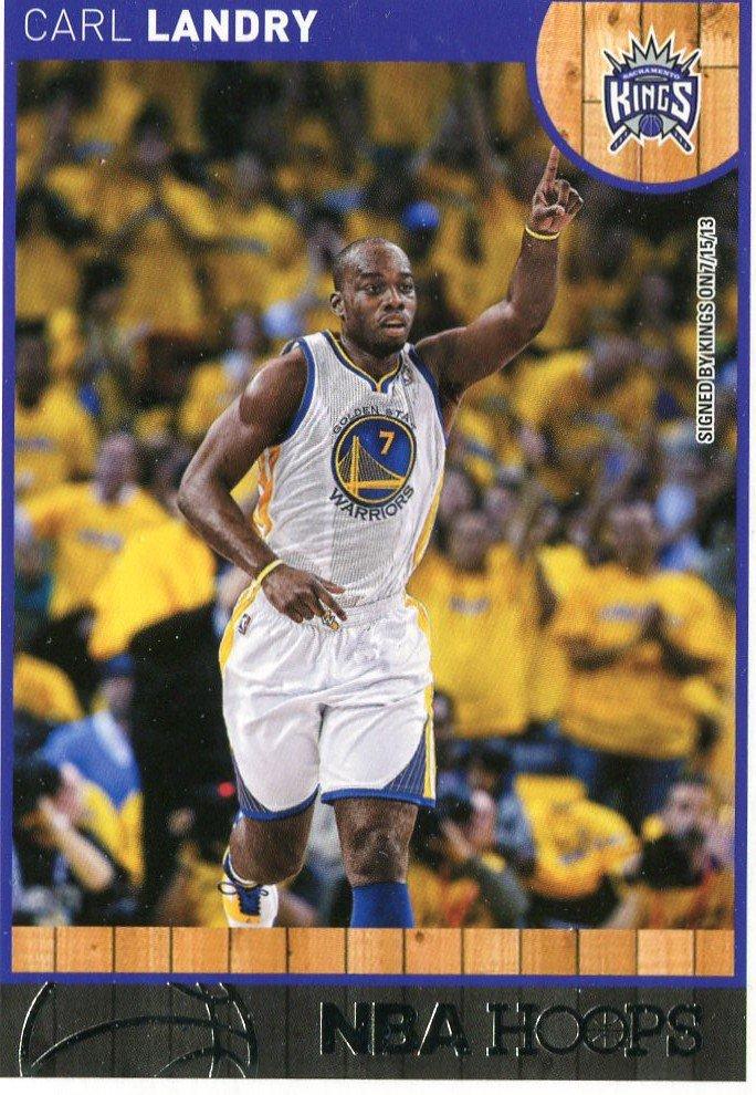 2013 Hoops Basketball Card #247 Carl Landry