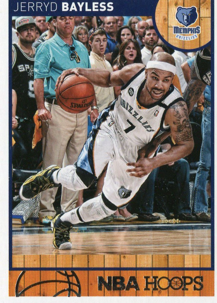 2013 Hoops Basketball Card #253 Jerryd Bayless