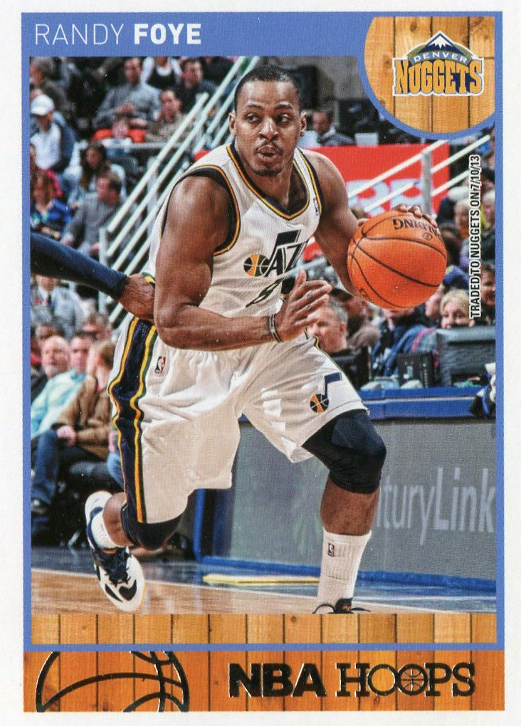 2013 Hoops Basketball Card #257 Randy Foye