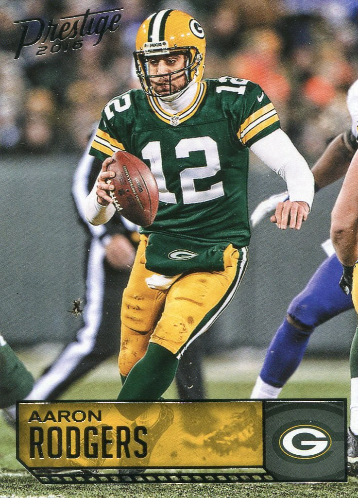2016 Prestige Football Card #70 Aaron Rodgers