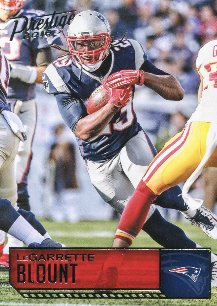 2016 Prestige Football Card #117 LeGarrette Bount