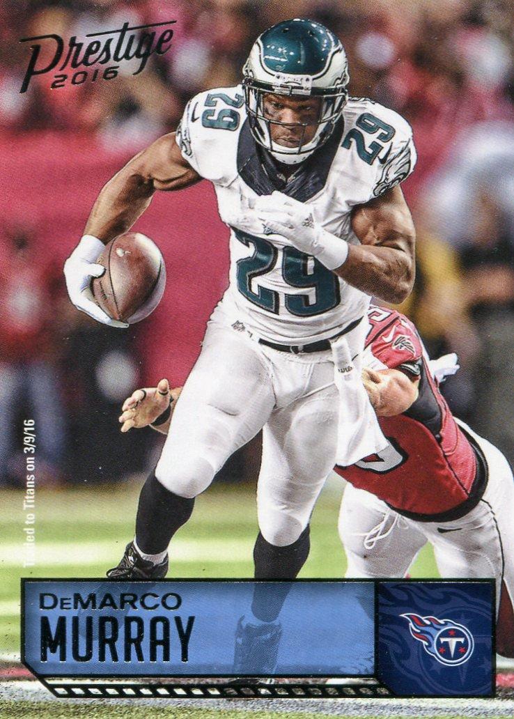 2016 Prestige Football Card #147 DeMarco Murray