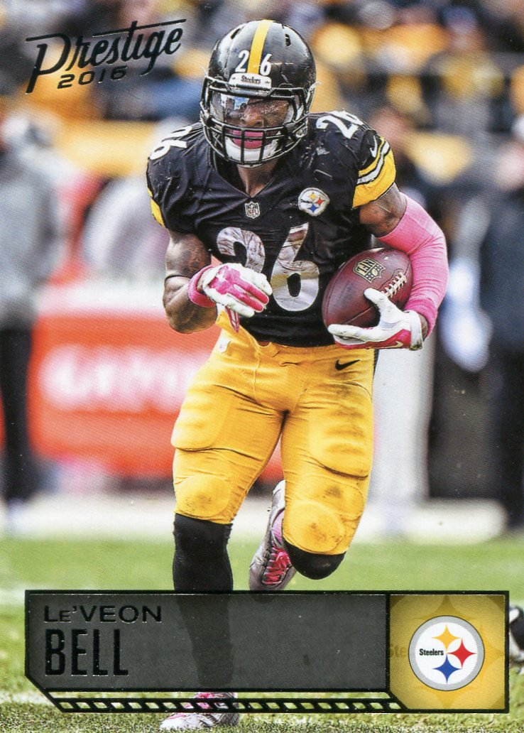 2016 Prestige Football Card #153 LeVeon Bell