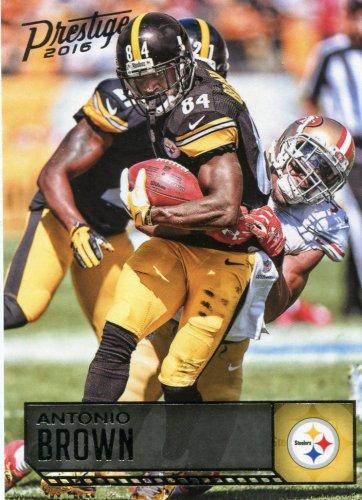 2016 Prestige Football Card #155 Antonio Brown